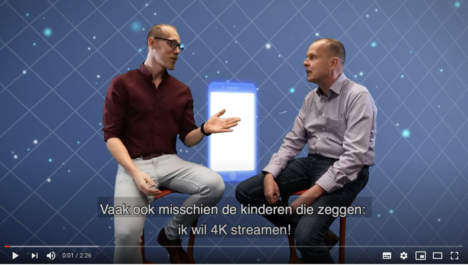 Video-Gigabitsnelheden